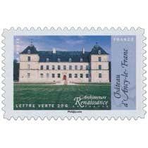 2015 Architecture Renaissance en France - Château d'Ancy-le-Franc