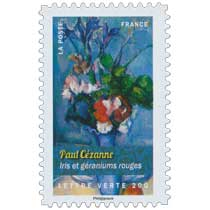 2015 Paul Cézanne - Iris et géraniums rouges