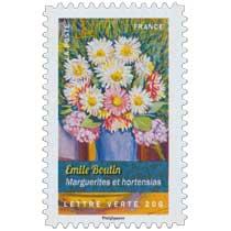 2015 Emile Boutin - Marguerites et hortensias