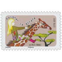 2016 peigner la girafe