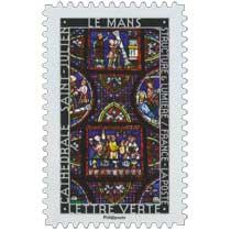 2016 Structure et lumière . Cathédrale Saint-Julien . Le Mans