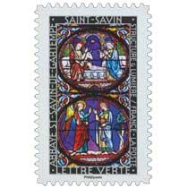 2016 Structure et lumière . Abbaye de St-Savin-de-Gartempe . Saint-Savin