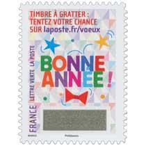 2016 Le Timbre à gratter : tentez votre chance sur laposte.fr/voeux . Bonne année