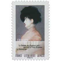 2016 Edouard Manet - La femme au chapeau noir: portrait d'Irma Brunner la Viennoise