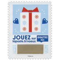 2018 Jouer sur laposte.fr/voeux - Gratter ici