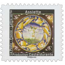 2019 Assiette - Production Casteldurante