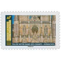 2019 Eglise Notre-Dame-des-Champs - Avranches