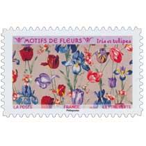 2021 Motifs de fleurs - Iris et tulipes
