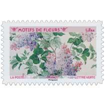2021 Motifs de fleurs - Lilas