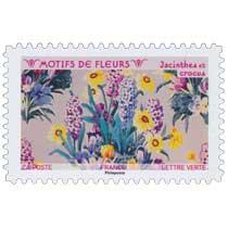 2021 Motifs de fleurs - Jacinthes et crocus