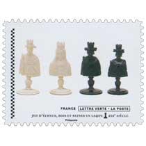 2021 Jeu d'échecs, rois et reines en laques XIXe siècle