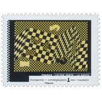 2021 Échiquier - Lithographie 1935 - Vasarely