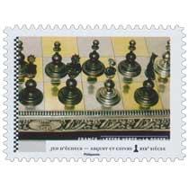 2021 Jeu d'échecs - Argent et cuivre XIXe siècle