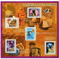 Le siècle au fil du timbre Communication