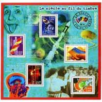 Le siècle au fil du timbre Sciences