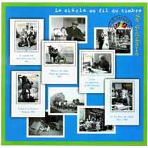 2002 Le siècle au fil du timbre Vie quotidienne.