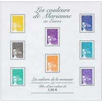 Les couleurs de Marianne en Euros
