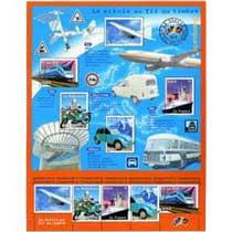 Le siècle au fil du timbre Transports.