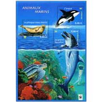 2002 ANIMAUX MARINS