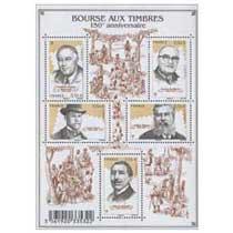 Bourse aux timbres - 150e anniversaire
