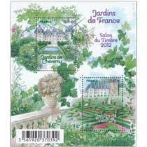 Jardins de France Salon du Timbre 2012