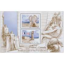 2017 France - Canada Bataille de la Crête de Vimy 9 - 12 avril 1917-2017