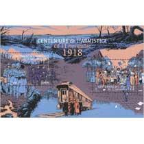 2018 Centenaire de l'armistice du 11 novembre 1918