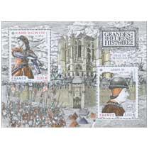2021 LES GRANDES HEURES DE L'HISTOIRE DE FRANCE -  Jeanne Hachette v 1454 – Louis XI 1423-1483