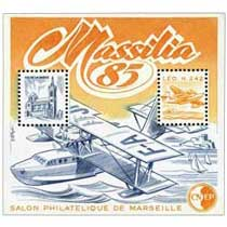 85 Massilia Salon philatélique de Marseille CNEP
