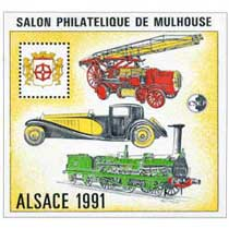 1991 Alsace Salon philatélique de Mulhouse CNEP