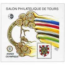 92 Salon philatélique de Tours CNEP Année olympique