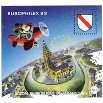 93 Europhilex Salon philatélique de Strasbourg CNEP