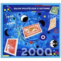 2000 1900 à 2000 Salon philatélique d'automne CNEP