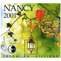 2001 Salon philatélique Nancy CNEP