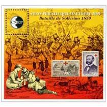 2009 Salon philatélique d'automne bataille de Solferino 1859 CNEP