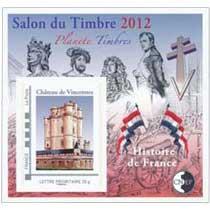 Salon du Timbre 2012 planète timbre château de Vincennes
