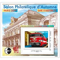 2019 Salon Philatélique d'Automne, Paris 2019 - Gare d'Austerlitz