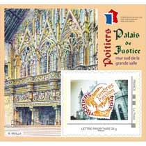 2014 Timbres Passion - Poitiers Palais de justice - mur sud de la grande salle