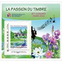 La passion du timbre 87e Congrès de la FFAP et le salon du Timbre 2014 - Planète Timbres