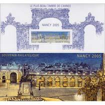 LE PLUS BEAU TIMBRE DE L'ANNÉE NANCY 2005