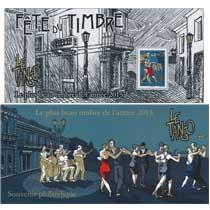 2016 Le plus beau timbre l'année 2015 - Le tango