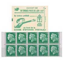 Caisse d'épargne postale - type Marianne de Cheffer