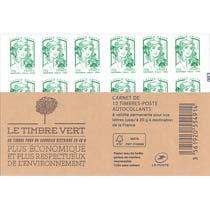 Carnet le timbre vert