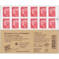 Recouvrez, pré-timbré et illustrées les enveloppes prêt-à-poster prestige