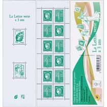 2014 Carnet La Lettre verte a 3 ans