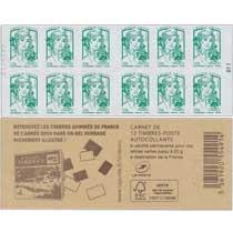 2014 Carnet livre des timbres 2014