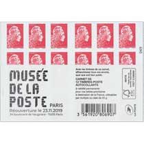 2019  Musée de La Poste - Paris - réouverture lr 23.11.19
