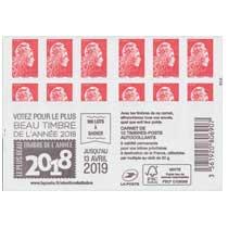 2019 élection du timbre