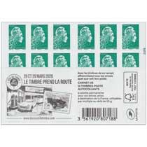 2019 28 et 29 mars 2020 Le timbre prend la route