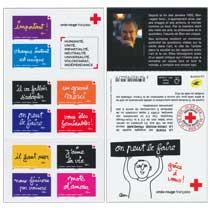 2021 Croix-Rouge française - on peut le faire grâce à vous.
